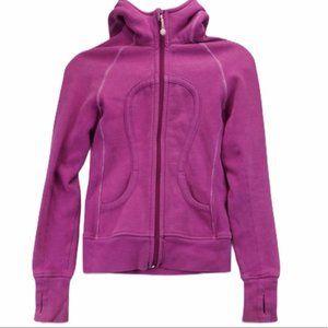 Lululemon Pink Scuba Hoodie Size 4